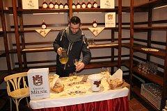 Na mělnickém zámku se degustovalo svatomartinské víno. Hlavním trhákem byla tentokrát bílá Ludmila Nouveau 2017.