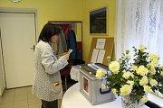 Po hodině a půl, kdy lidé po celém okrese vhazovali do uren svoje hlasy, mělo například v Jeviněvsi odvoleno 24 voličů ze 172 možných. Přitom právě Jeviněves byla v předminulých volbách obec s největší volební účastí na celém Mělnicku.