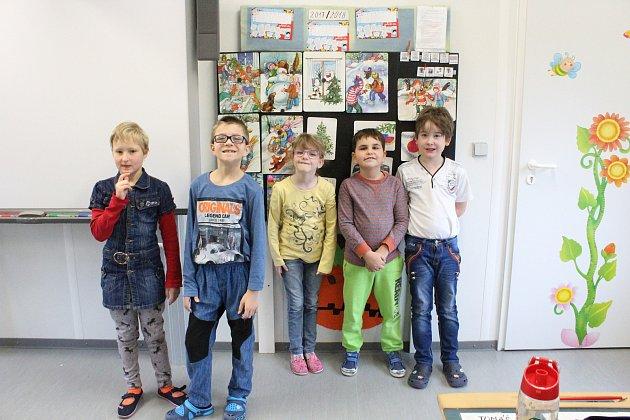 Žáci první třídy ZŠ a praktické školy Neratovice třídní učitelky Jitky Jamborové.