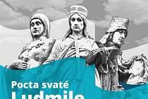 Plakát k akci Pocta svaté Ludmile