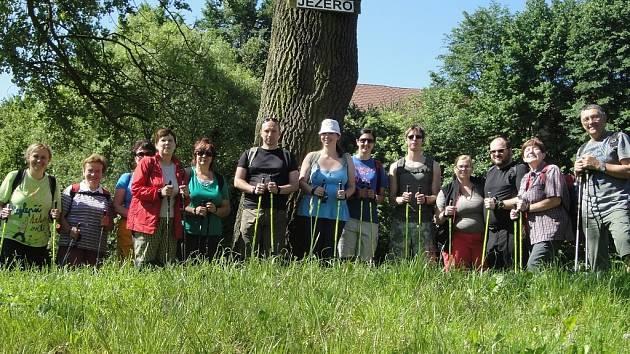 Mezi účastníky nedělního výletu byli lidé různých věkových kategorií.