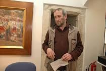 Malíř Ivan Bukovský odsoudil jednání hejtmana Davida Ratha na tiskové konferenci Českého muzea výtvarných umění