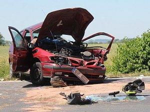 Dopravní nehoda u Mělníka