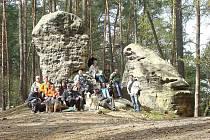 Výletníci vyrazili do mšenských lesů.
