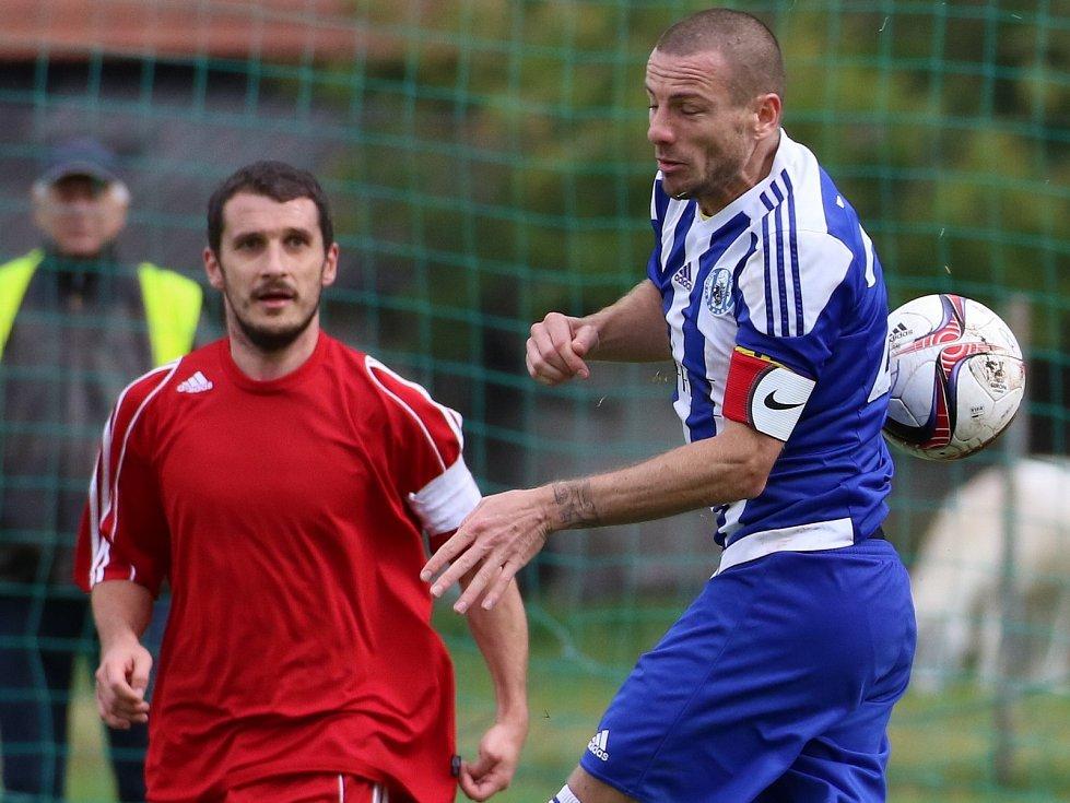 Peter Očovan (vpravo) se vrací do Libiše, tým převezme jako trenér.