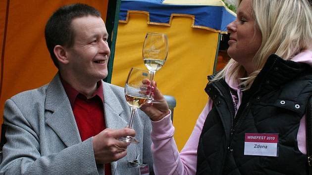Mezinárodní přehlídka vín Winefest 2010 v Mělníku.