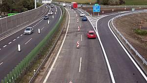 Vývoj dálniční sítě v Česku