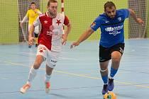 Varta liga, 8. kolo: Olympik Mělník - Slavia Praha (4:9)