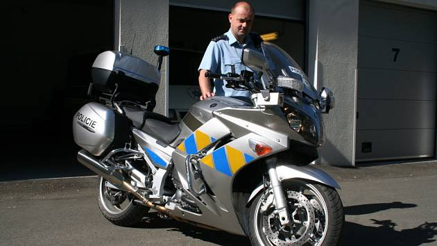 Policejní Yamaha FJR 1300