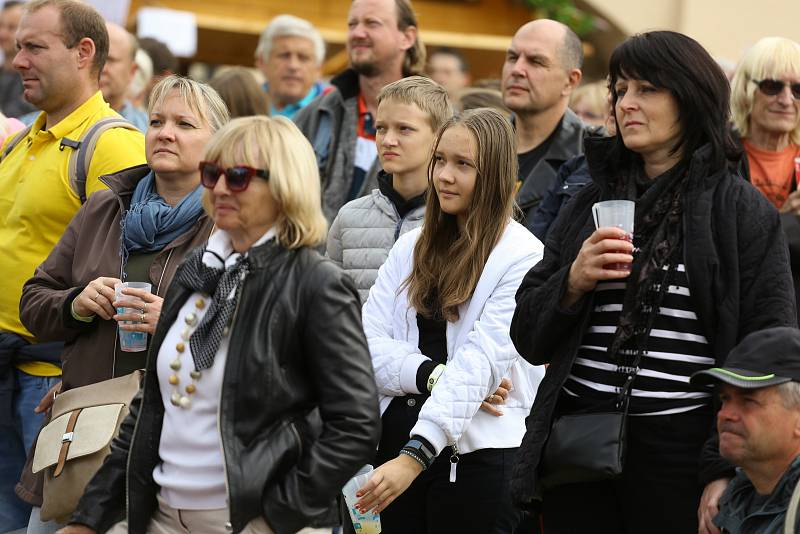 Mělnické vinobraní v sobotu 18. září 2021.