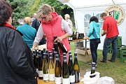Posezení u vína a burčáku nabídlo letos už šesté Kralupského vinobraní.