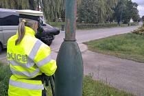 Dopravně bezpečnostní akce zaměřená na mobilní telefony.