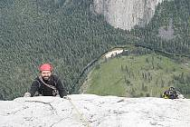 Jan Bloudek zdolal žulový masiv El Capitan.