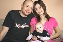 Martin Plaček zná matku svého dítěte Ivu Doležalovou deset let. Jako  životní partneři spolu však fungují pouze něco málo přes tři roky.