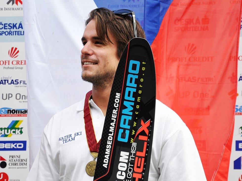 Vodní lyžař Adam Sedlmajer