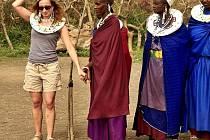 Kristina Černá, Afrika