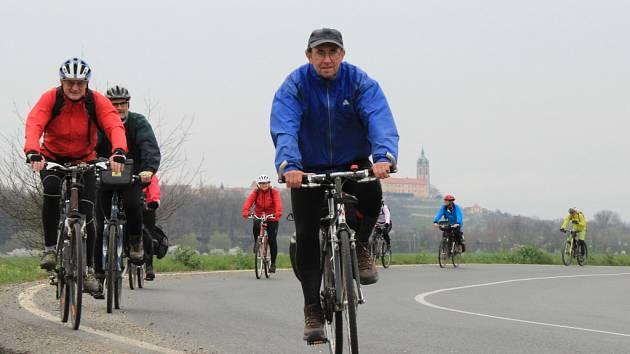 Cyklisté zavzpomínali na Michala Třetinu.