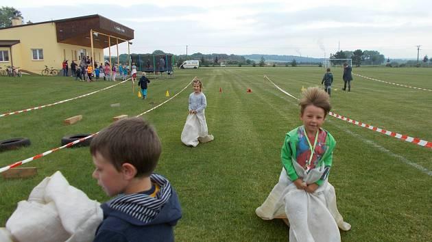 Dětský den oslavili na fotbalovém hřišti v Cítově.