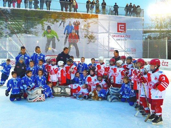 Kralupští druháci si zahráli volympijském parku vPraze na Letné.