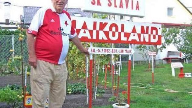 Vítejte v mém království, říká hrdě Jan Maik.