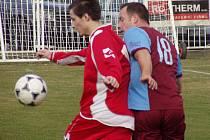 Slavia Velký Borek - AFK Hořín (1:0); 18. kolo okresního přeboru; 22. března 2015