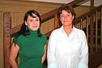 Referentka Lucie Krejzová (zleva) a poradkyně Pavlína Bílá