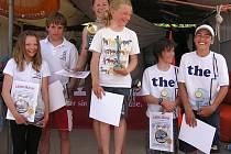 Neratovická dívčí posádka triumfovala v závodě Středoevropského poháru