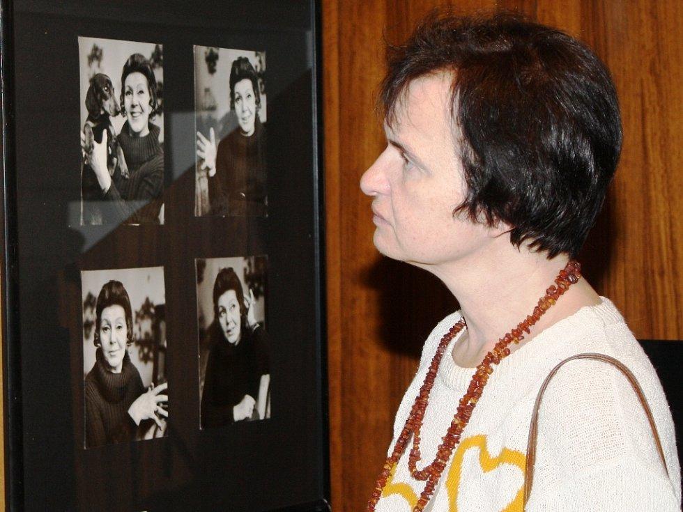 Vernisáž výstavy Nejlepší rocky paní Hermanové lákala.