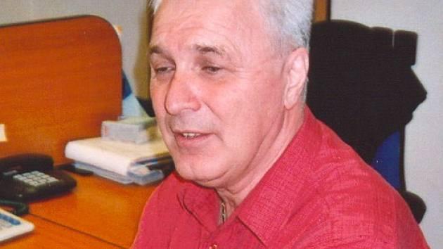 Vladimír Matějček, předseda FK Kaučuk Kralupy.