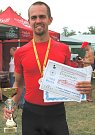 Absolutní vítěz letošního Miřejovicekého půlmaratonu Slavomil Kvarta.