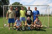 Božkov z Horních Počapel opanoval turnaj v malé kopané