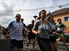 """Běh Zlončickou roklí se letos běžel už popáté v rámci """"Zlončického veselí"""", které se pořádá vždy k připomenutí povodní, které byly v roce 2002."""