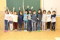 Žáci 1. třídy ZŠ Cítov třídní učitelky Marcely Mlejnkové.