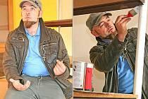 Výtvarník tělem i duší Čeněk Hlavatý nesedí jen v ředitelském křesle, s chutí se s kolegy pustil také do rekonstrukce pobočky mšenské umělecké školy v Mělníku.