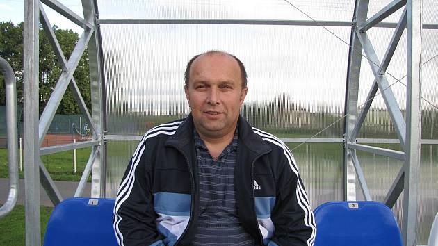 Jaroslav Urbánek může být s uplynulou sezonou Řepína maximálně spokojený. Jeho tým skončil v I. B třídě na druhém místě.