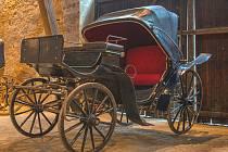 Novým exponátem je lehký čtyřkolový kočár se sklápěcí střechou, kterému se říká mylord podle anglického oslovení šlechtice.