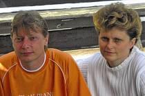 Bratr Daniel Jerman je pro Jitku Grillovou velkou oporou.