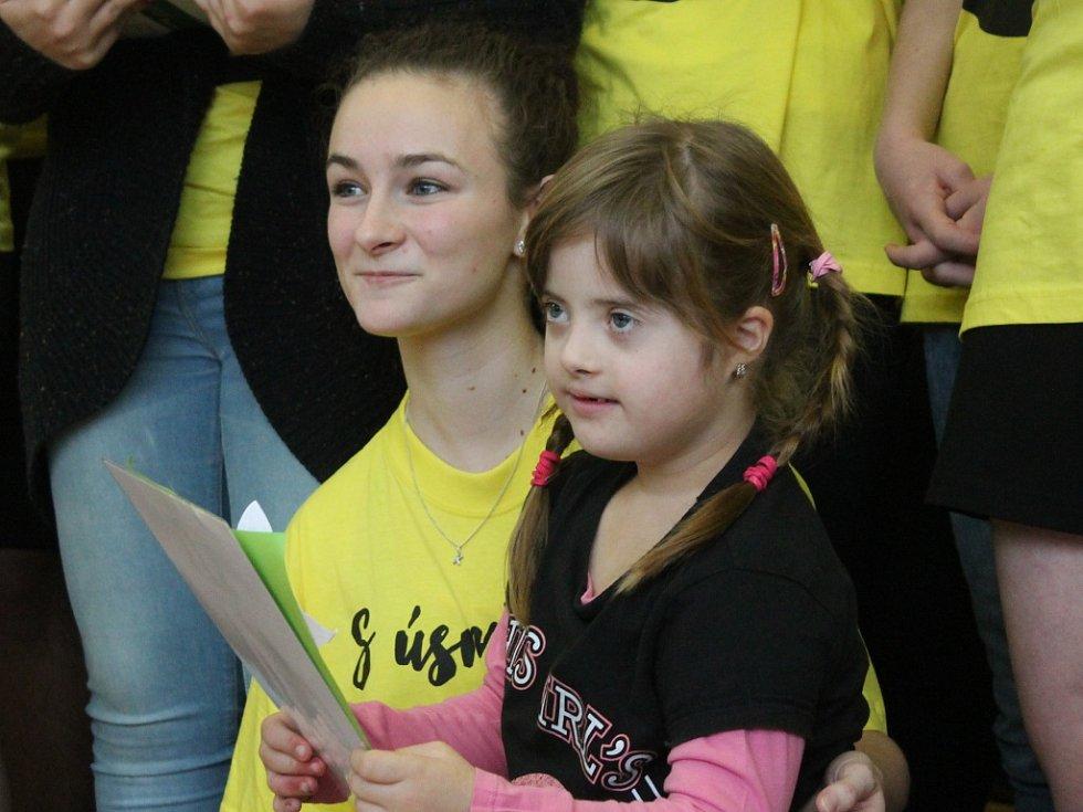 IV. ročník charitativního volejbalového turnaje učitelky mělnického gymnázia Zdeňky Sekulové a jejích studentů.