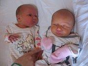 Patricie a Anita Kozákovy se rodičům Michaele a Ondřejovi z Kostelce nad Labem narodily v mělnické porodnici 3. února 2017. Patricie vážila 2,49 kg a měřila 46 cm a Anita vážila 3,01 kg a měřila 46 cm.