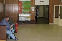 Vstupní halu polikliniky mělnické nemocnice čeká rekonstrukce