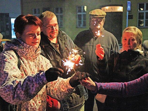 Česko zpívá koledy 2015 ve Mšeně.