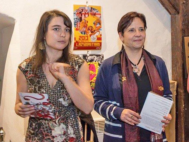Ředitelka Masarykova kulturního domu Radka Kareisová (vpravo).