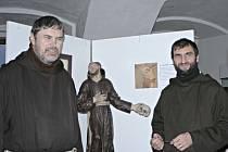 Slavnostní vernisáž otevřela ve čtvrtek 20. února výstavu s názvem Kapucíni na Mělníku.