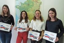 Originálně vyjádřený vztah kpitné vodě zajistil studentkám Anně Černé, Anně Bartákové, Kláře Zelenkové a Sofii Přibylové zGymnázia Jana Palacha vMělníce návštěvu Francie.