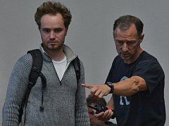 Špionážní drama Bez vědomí začíná natáčet režisér Ivan Zachariáš v Kralupech.