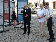 Výstava na Mělníku mapuje život ve městě i na soutoku.