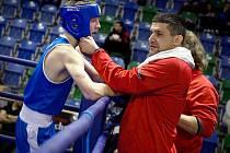 Jan Gazdík z SK Box Mělník se stal mistrem ČR v kategorii kadetů do 66 kg.