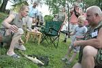 Dětský sportovní rybolov v Daminěvsi
