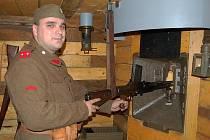 Provozovatel Pevnostvího muzea v Sazené Aleš Crha.
