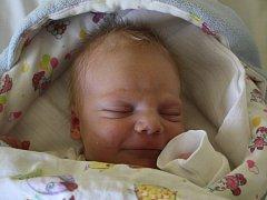 JIŘÍ Strnad se rodičům Kateřině Urbánkové a Jiřímu Strnadovi z Libiše narodil v mělnické porodnici 18.srpna 2016, vážil 3,44 kg a měřil 51 cm.